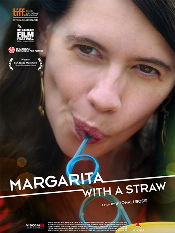 Margarita with a straw - Affiche 600x800